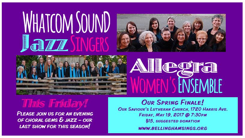 bellingham sings spring concert 2017